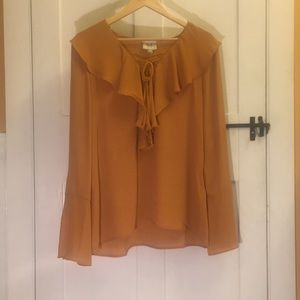 Yellow ECI blouse